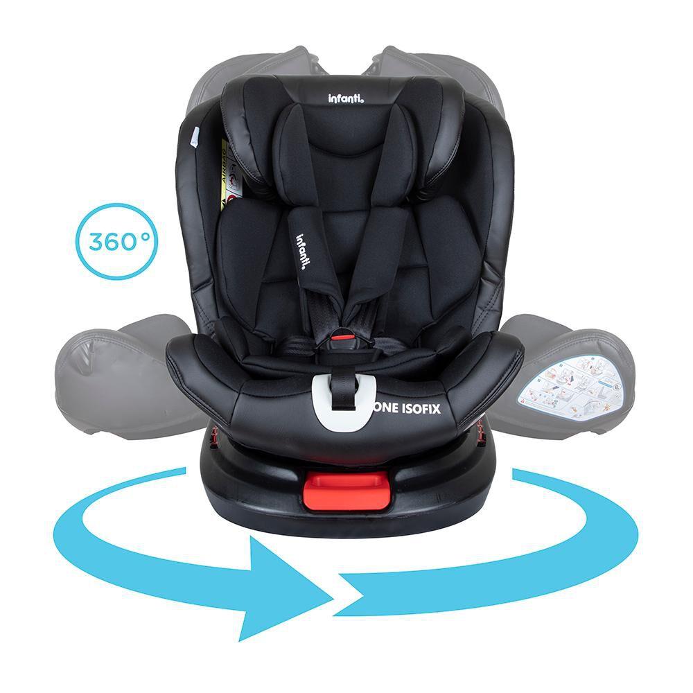Silla De Auto Infanti Convertible One Isofix Black image number 4.0