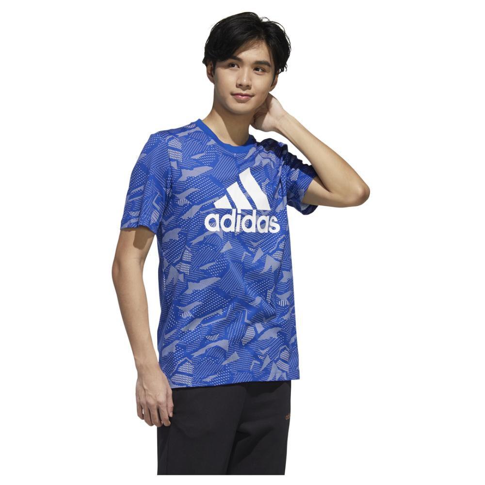 Polera Hombre Adidas Essentials Allover Print image number 2.0