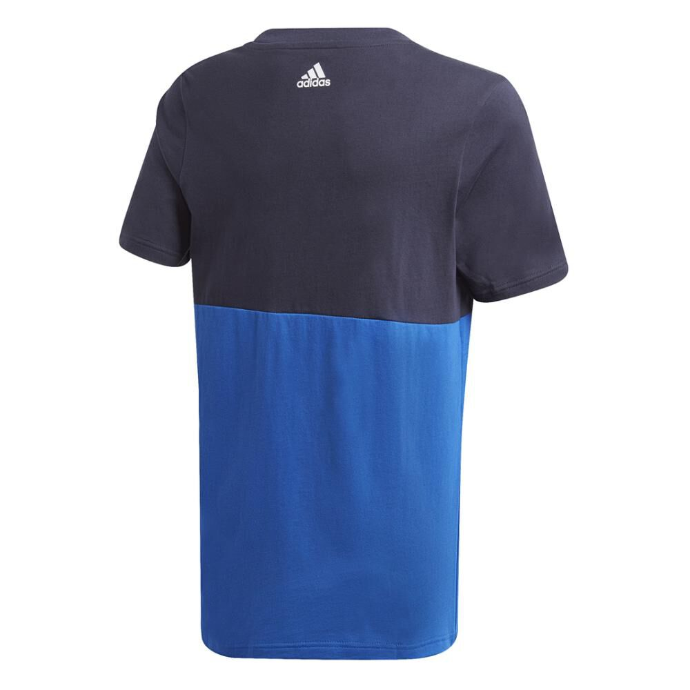 Polera Hombre Adidas Young Boys Linear Colorbock T-shirt image number 2.0