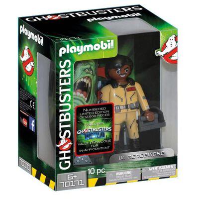 Figura De Película Playmobil Ghostbusters W. Zeddemore