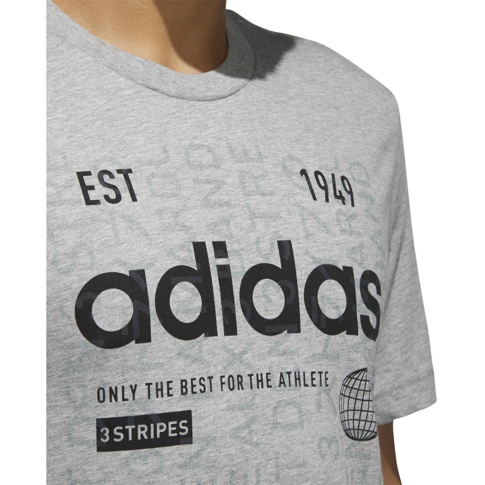 Camiseta Adi International Hombre Adidas image number 4.0