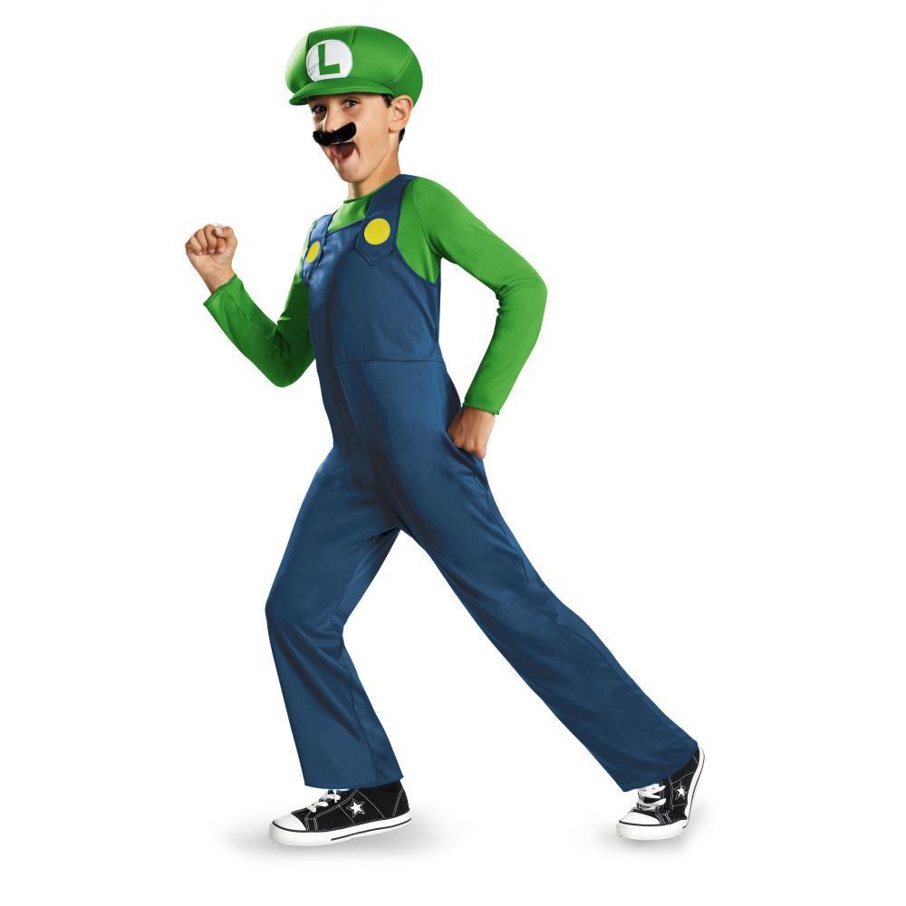 Disfraz Nintendo Luigi Super Mario Bros image number 0.0