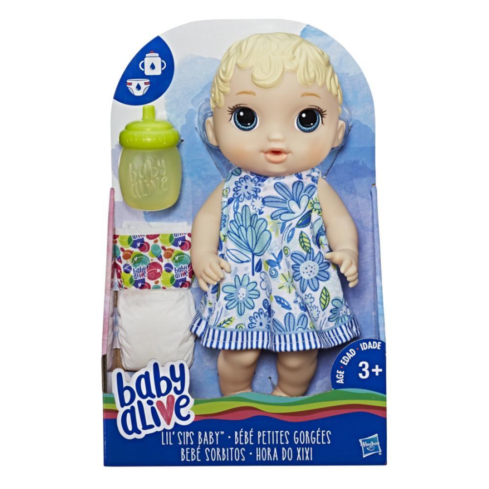 Muñeca Baby Alive Bebé Sorbitos Rubia image number 1.0