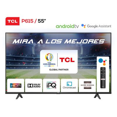 Led TCL 55P615 / 55'' / Ultra Hd / 4k / Android Tv