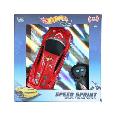 Auto Radiocontrolado Hotwheels Speed Sprint