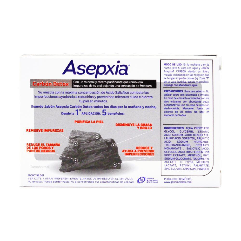 Jabón Asepxia / 100 Gr, No image number 2.0