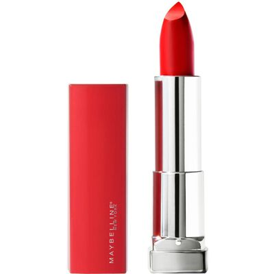 Labial Maybelline Made For All 382 Red For Me  / Rojo
