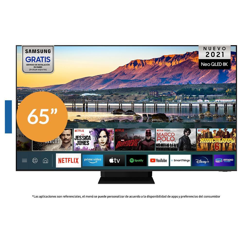 """Qled Samsung QN800A / 65 """" / 8k / Smart Tv image number 0.0"""