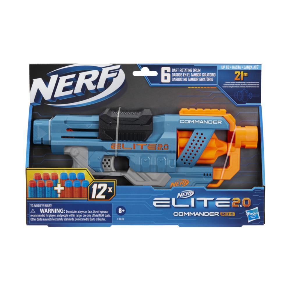 Lanzador Nerf Elite 2.0 Commander Rd-6 image number 1.0
