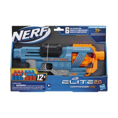 Lanzador Nerf Elite 2.0 Commander Rd-6