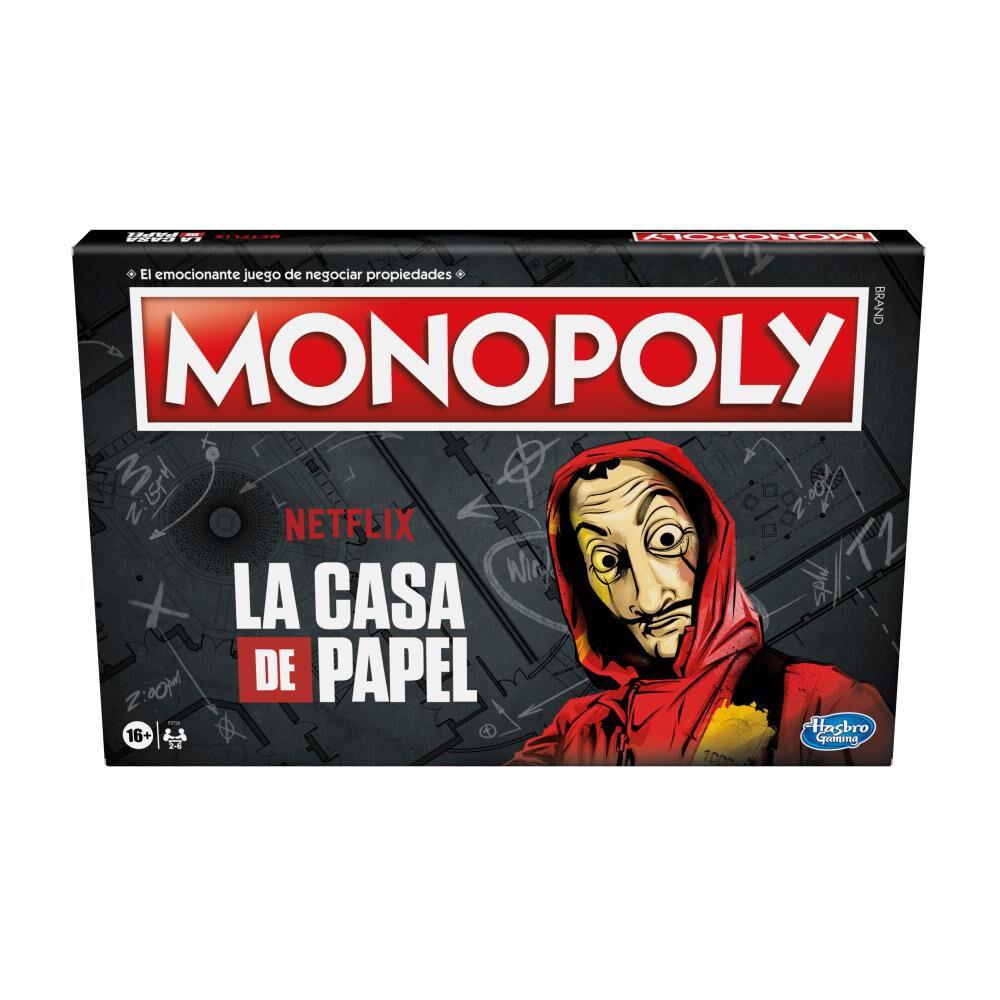 Juego De Mesa Monopoly La Casa De Papel image number 0.0
