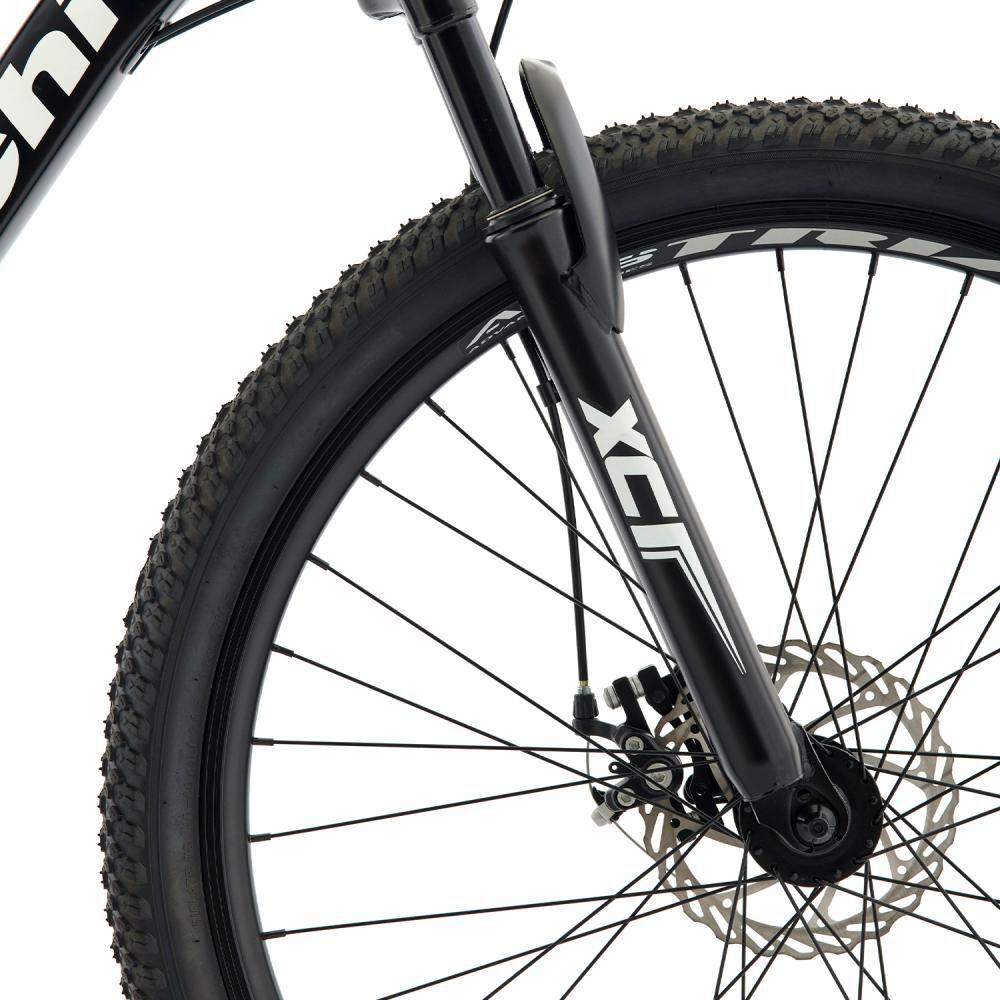 Bicicleta Mountain Bike Bianchi Advantage 27,5 Sx Negro Semi Matte / Blanco / Aro 27.5 image number 2.0