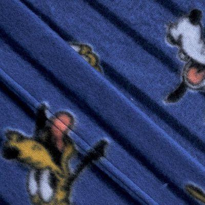 Juego De Sábanas Polar Mickey Classic / 1.5 Plazas