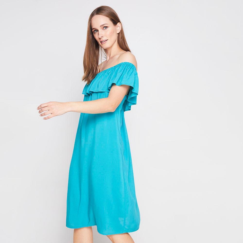 Vestido Con Vuelos Mujer Geeps image number 0.0