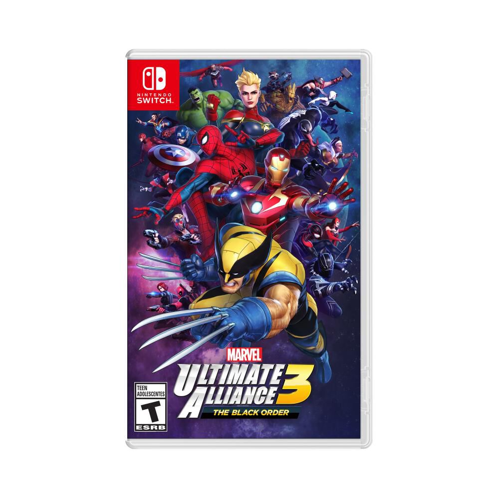 Juego Nintendo Switch Marvel Ultimate Alliance 3 image number 0.0