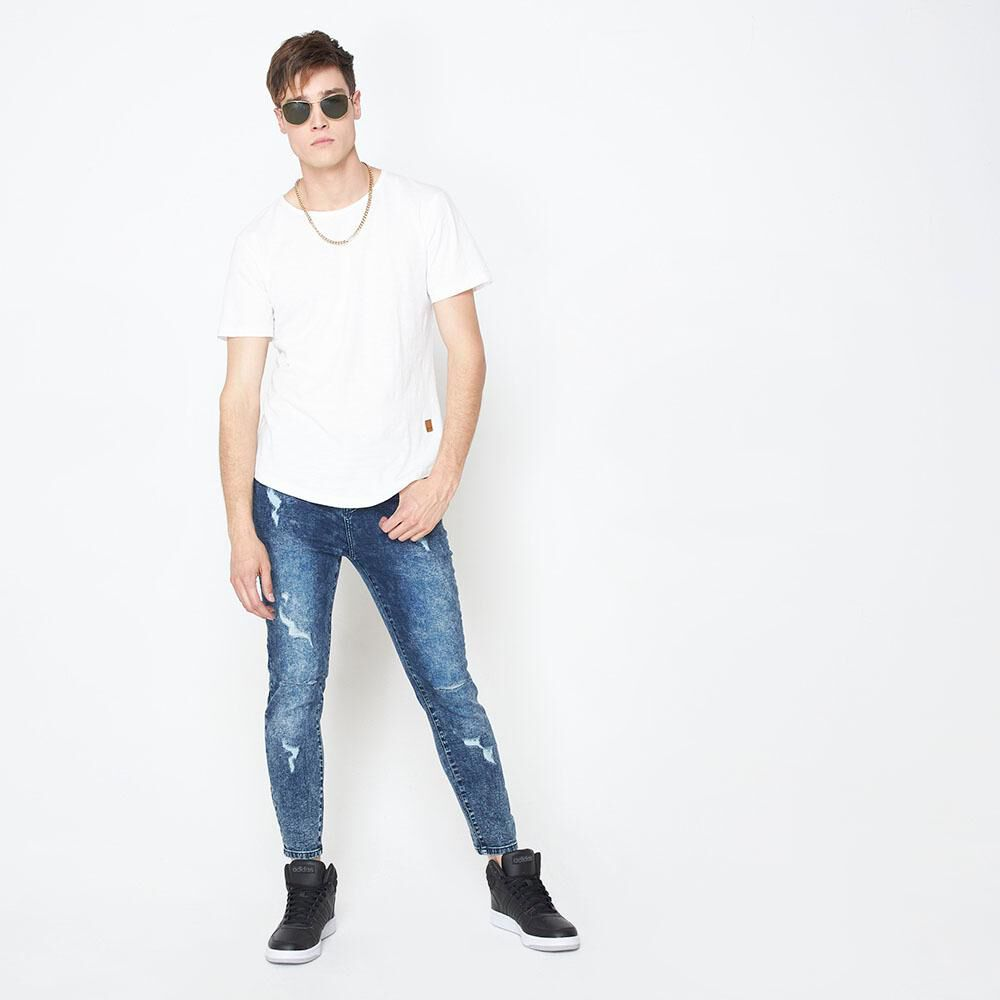 Jeans Super Skinny Hombre Rolly Go image number 1.0