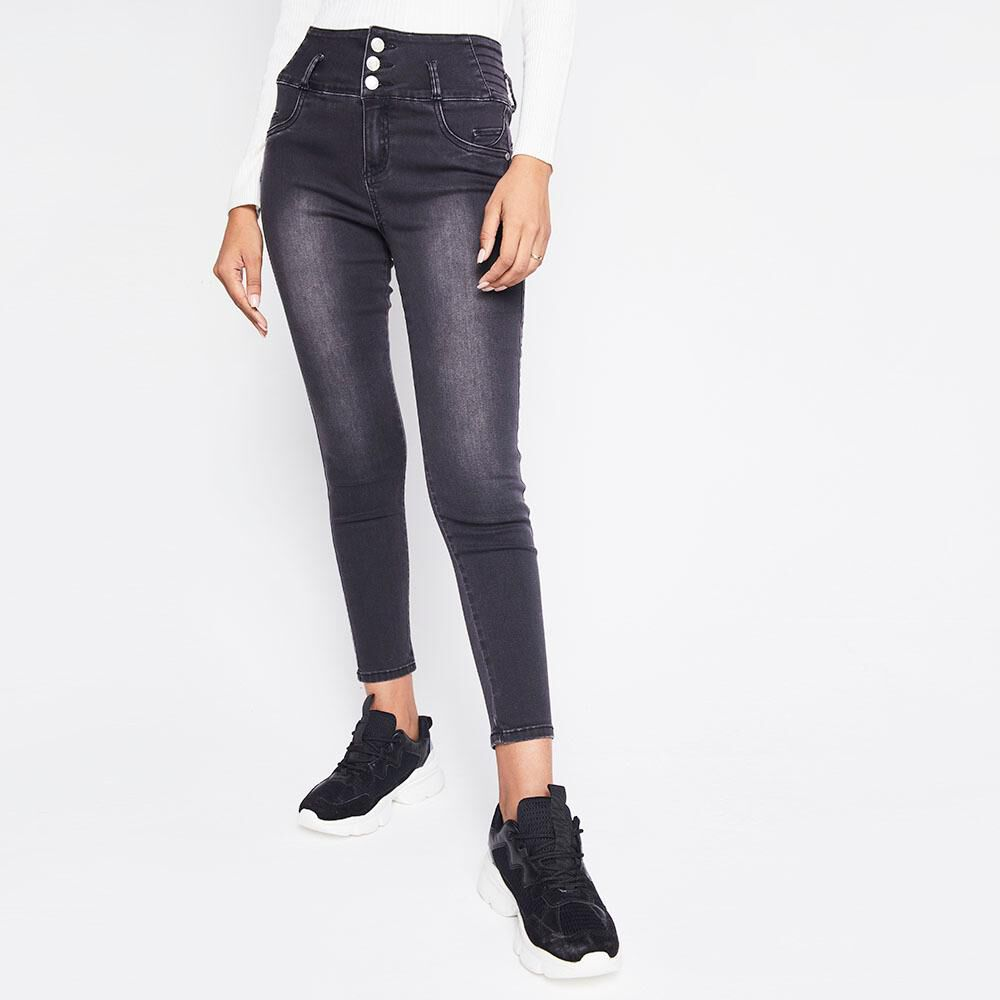 Jeans Mujer Tiro Alto Skinny escultural Rolly go image number 0.0