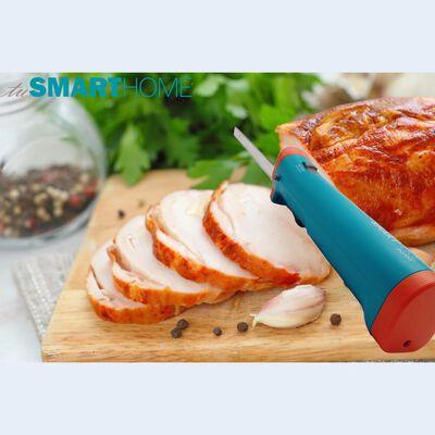 Cuchillo Inalámbrico Tusmarthome Smart Knife / 2 Sierras Para Pan Y Carnes