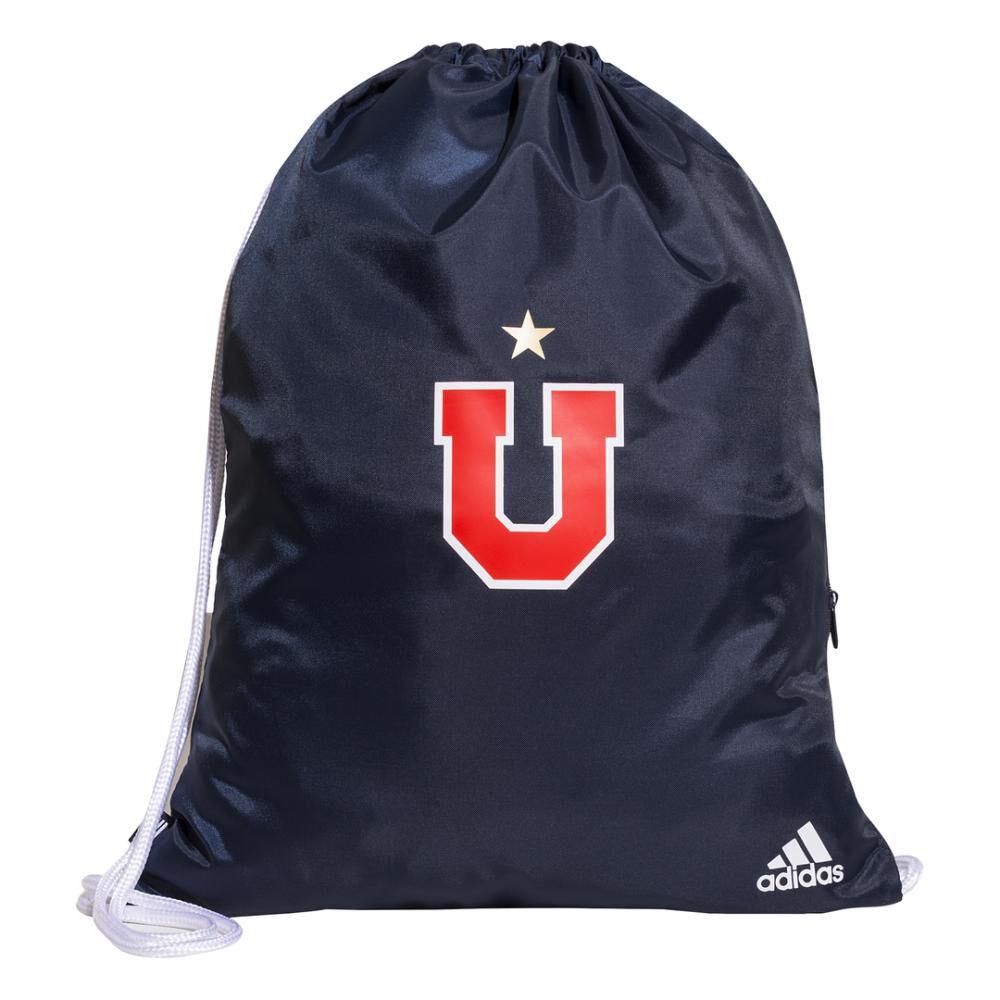 Mochila Unisex Adidas-uch Universidad De Chile Gymsack / 14 Litros image number 0.0