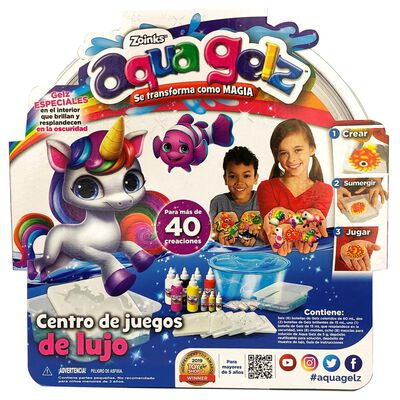 Set Aqua Gelz Playset Con Glitter