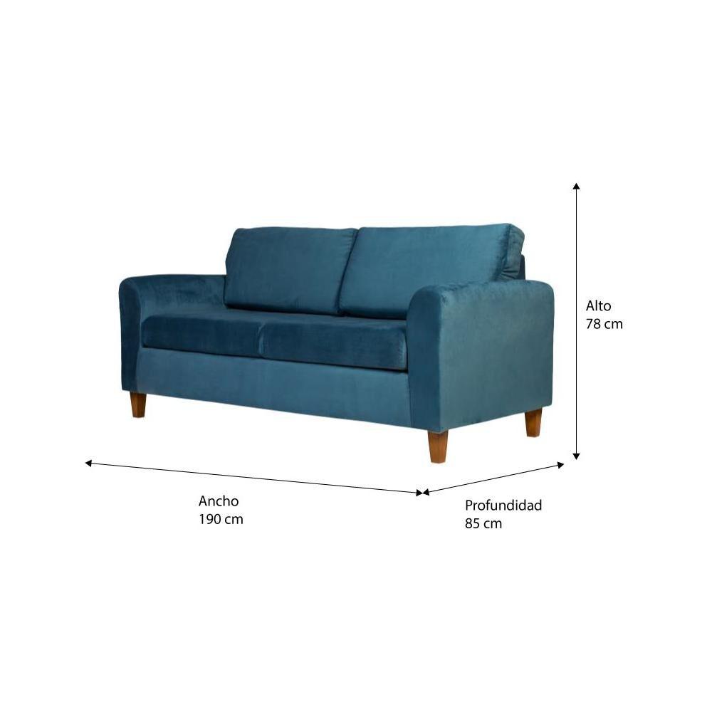 Sofa Altohogar Delfos 3C / 3 Cuerpos image number 3.0