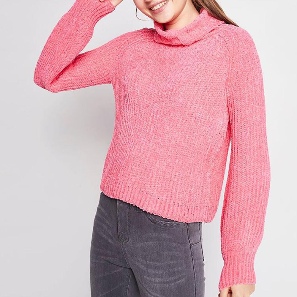 Sweater Tejido Cuello Alto Mujer Freedom image number 0.0