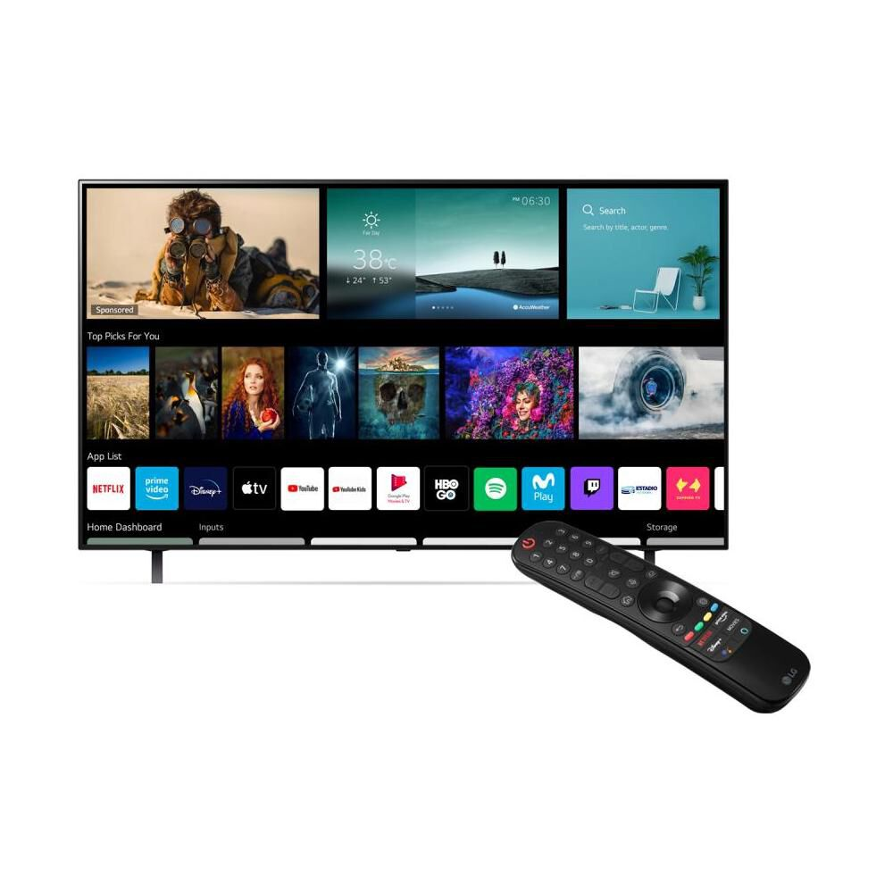 """Oled LG OLED48A1PSA + Fn4 / 48 """" / Ultra Hd / 4k / Smart Tv image number 1.0"""