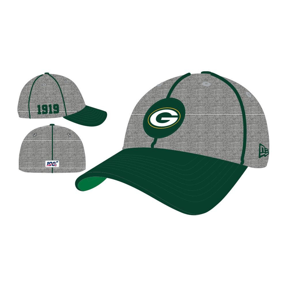 Jockey New Era 3930 Green Bay Packers image number 0.0