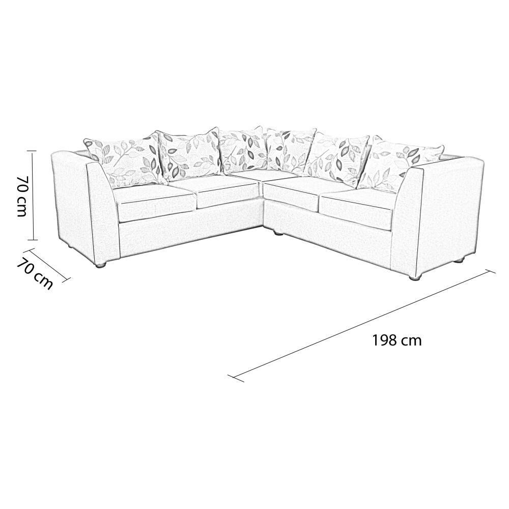 Sofa Seccional Elegant Detail Dallas image number 4.0