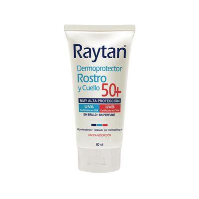 Dermoprotector Solar Raytan Spf 50+ Rostro Cuello / 50 Ml