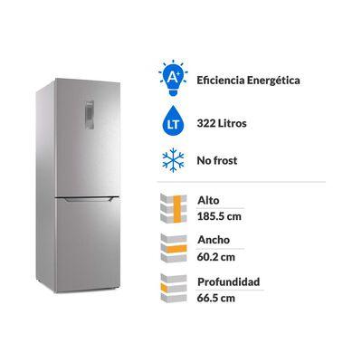 Refrigerador Bottom Freezer Fensa DB60S / No Frost / 322 Litros