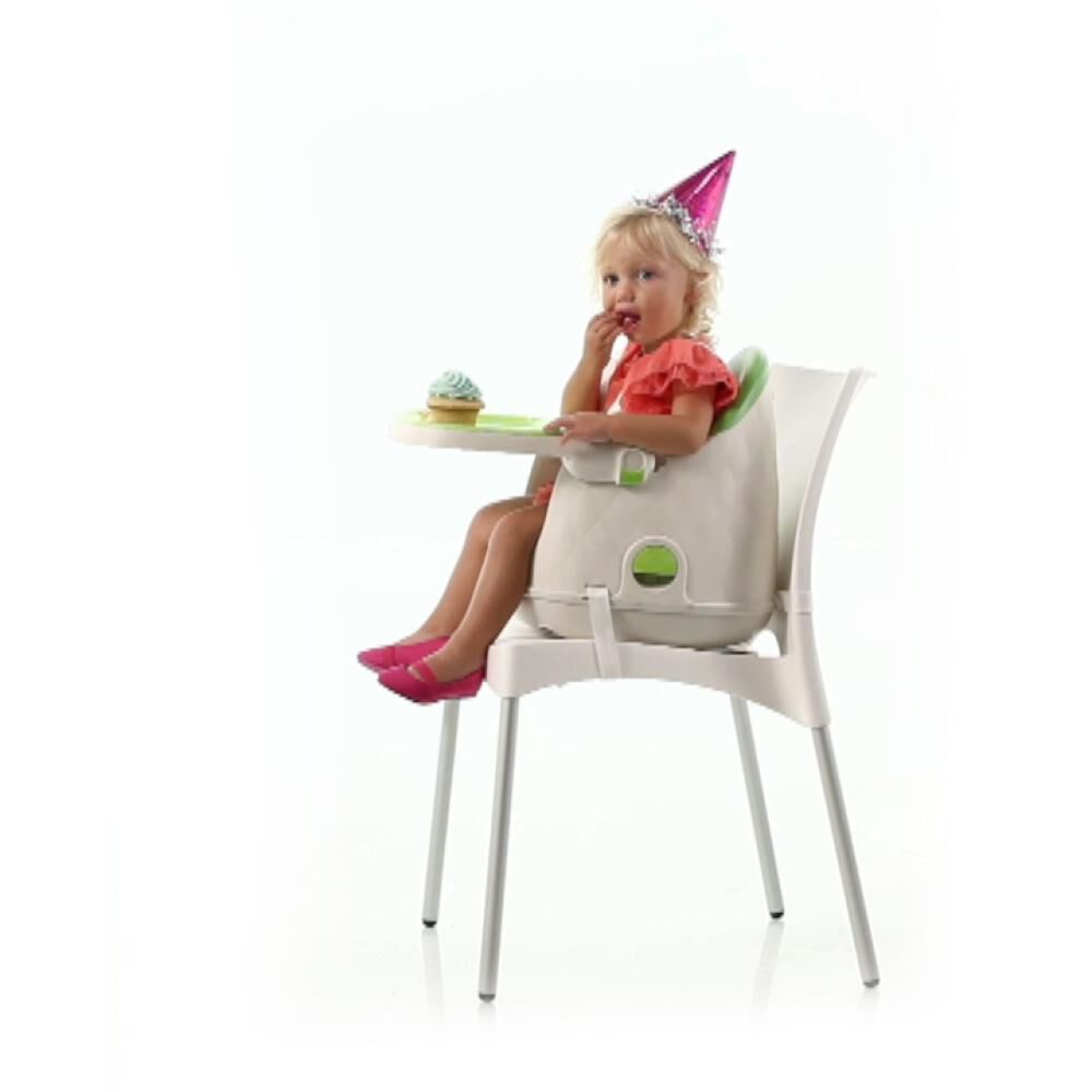 Silla De Comer Safety Jelly Green image number 2.0