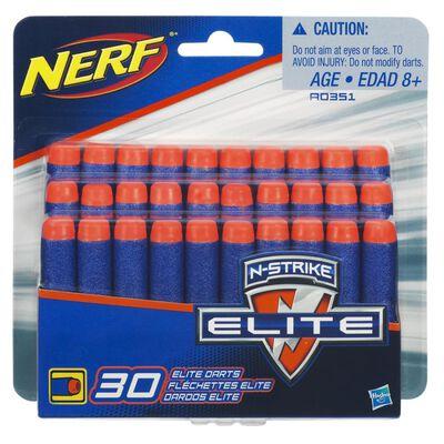 Dardos De Repuesto Nerf Elite Nstrike 30 Dardos