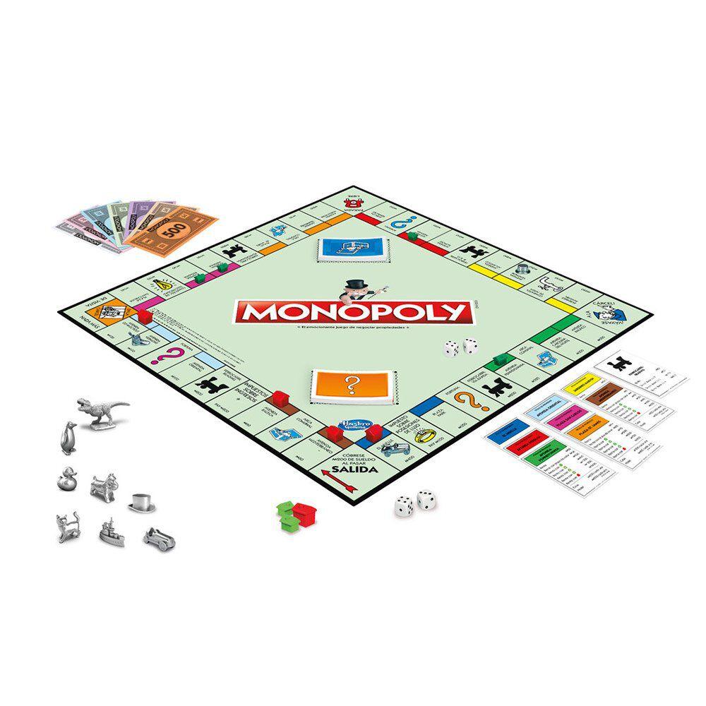 Juego De Mesa Hasbro Monopoly image number 1.0