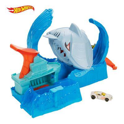 Figura De Accion Hotwheels City Robo Tiburón