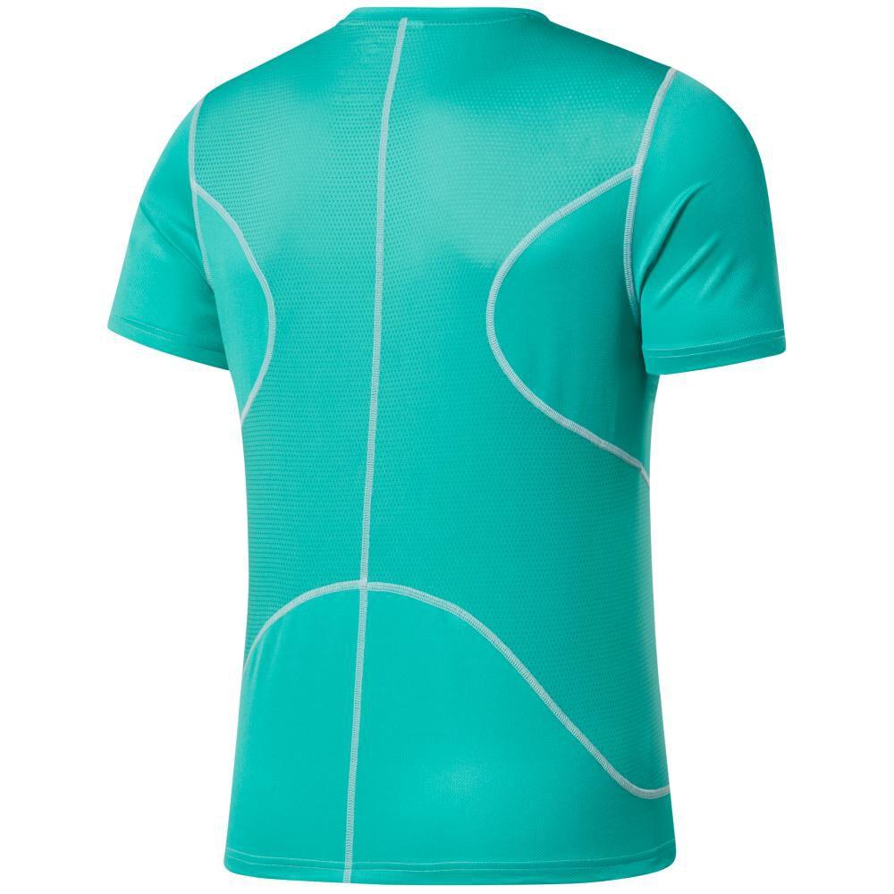 Polera Hombre Reebok Run Essentials Speedwick Short Sleeve Tee image number 6.0
