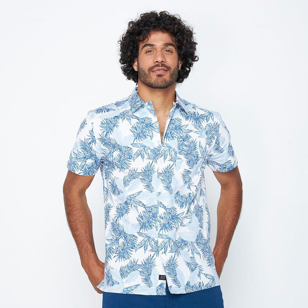 Camisa Hombre Az Black image number 0.0