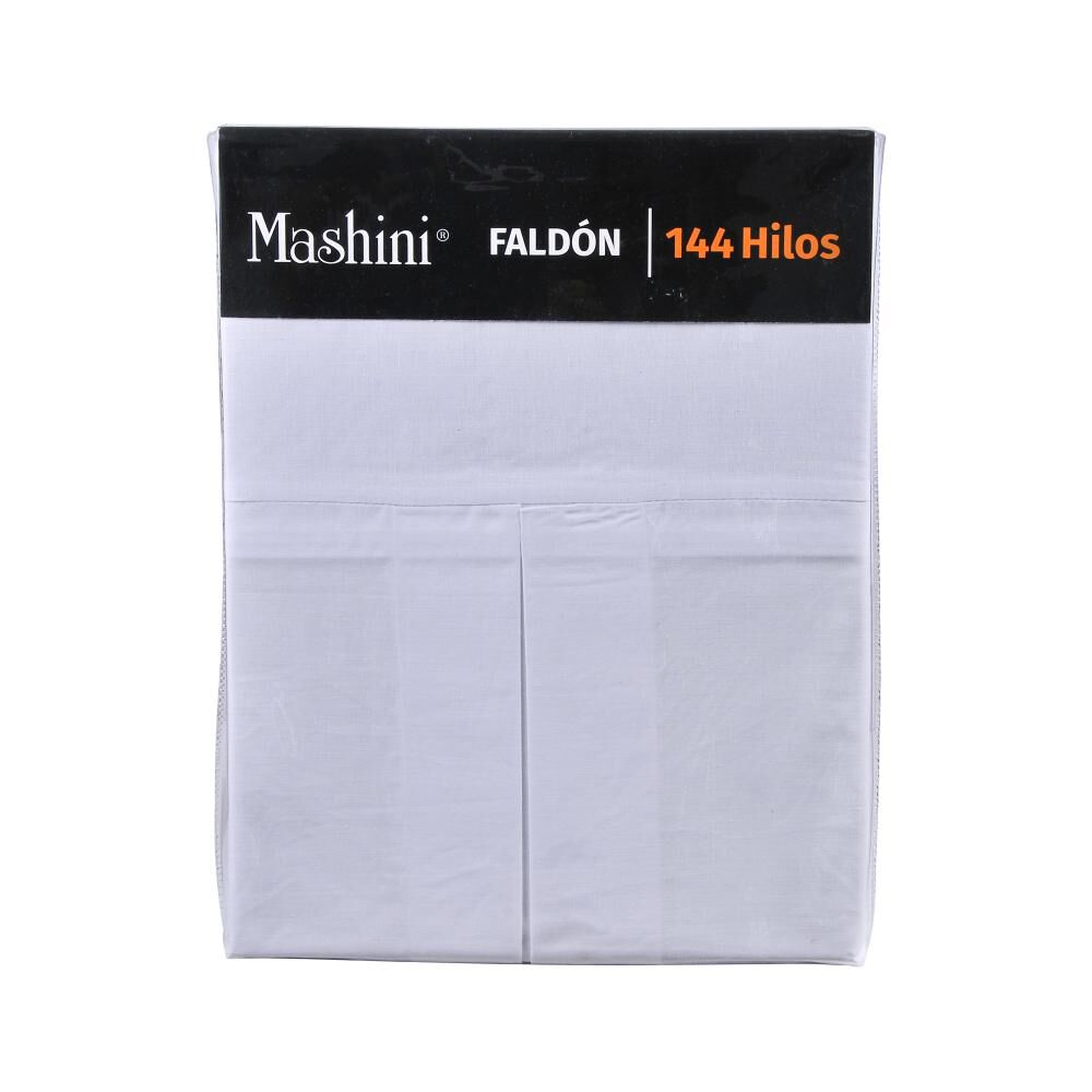 Faldón Mashini Liso / 1.5 Plazas / 144 Hilos image number 2.0