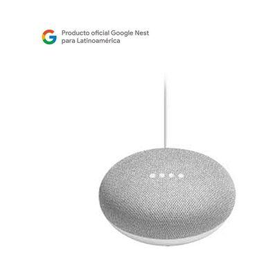 Parlante Bluetooth Google Mini Gris / Asistente de voz