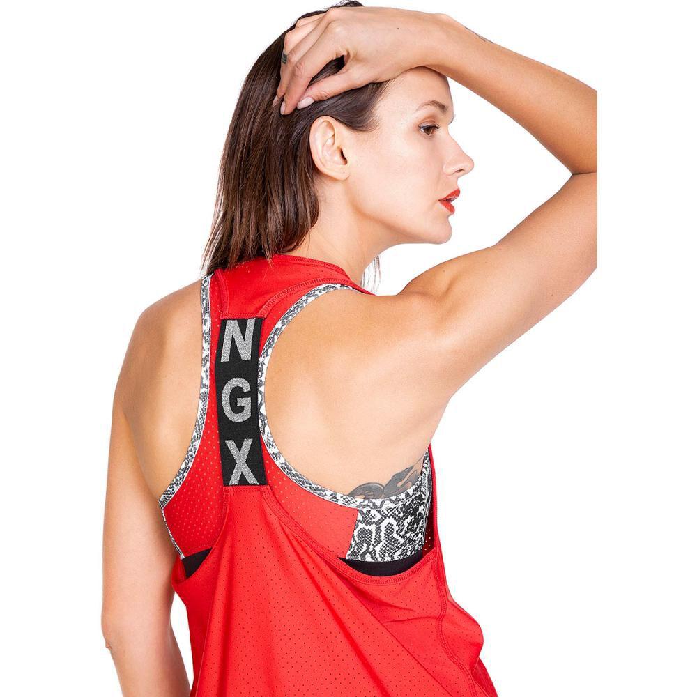 Polera Mujer Ngx Tank Piton image number 2.0