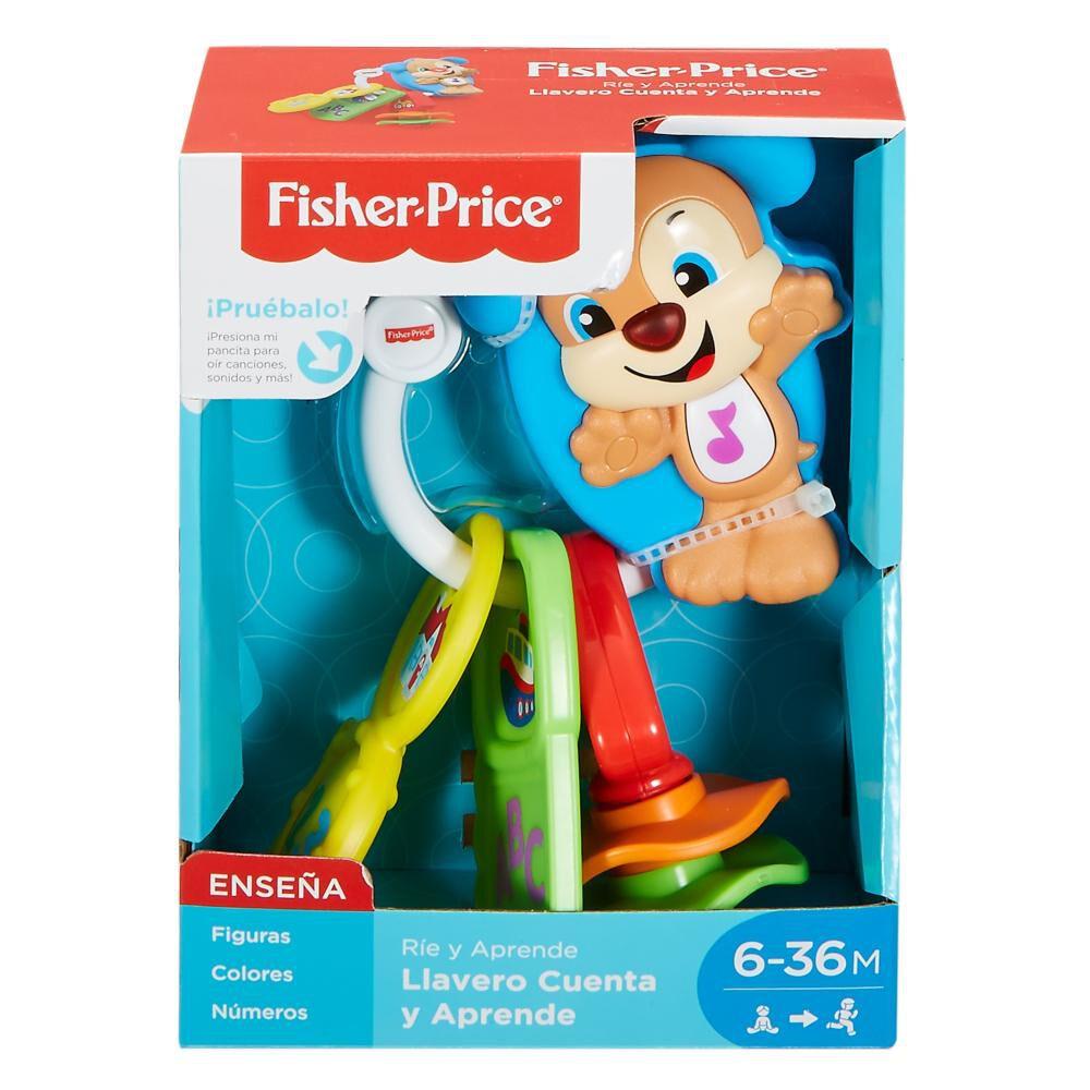 Juegos Fisher Price Llavero Cuenta Y Aprende image number 0.0