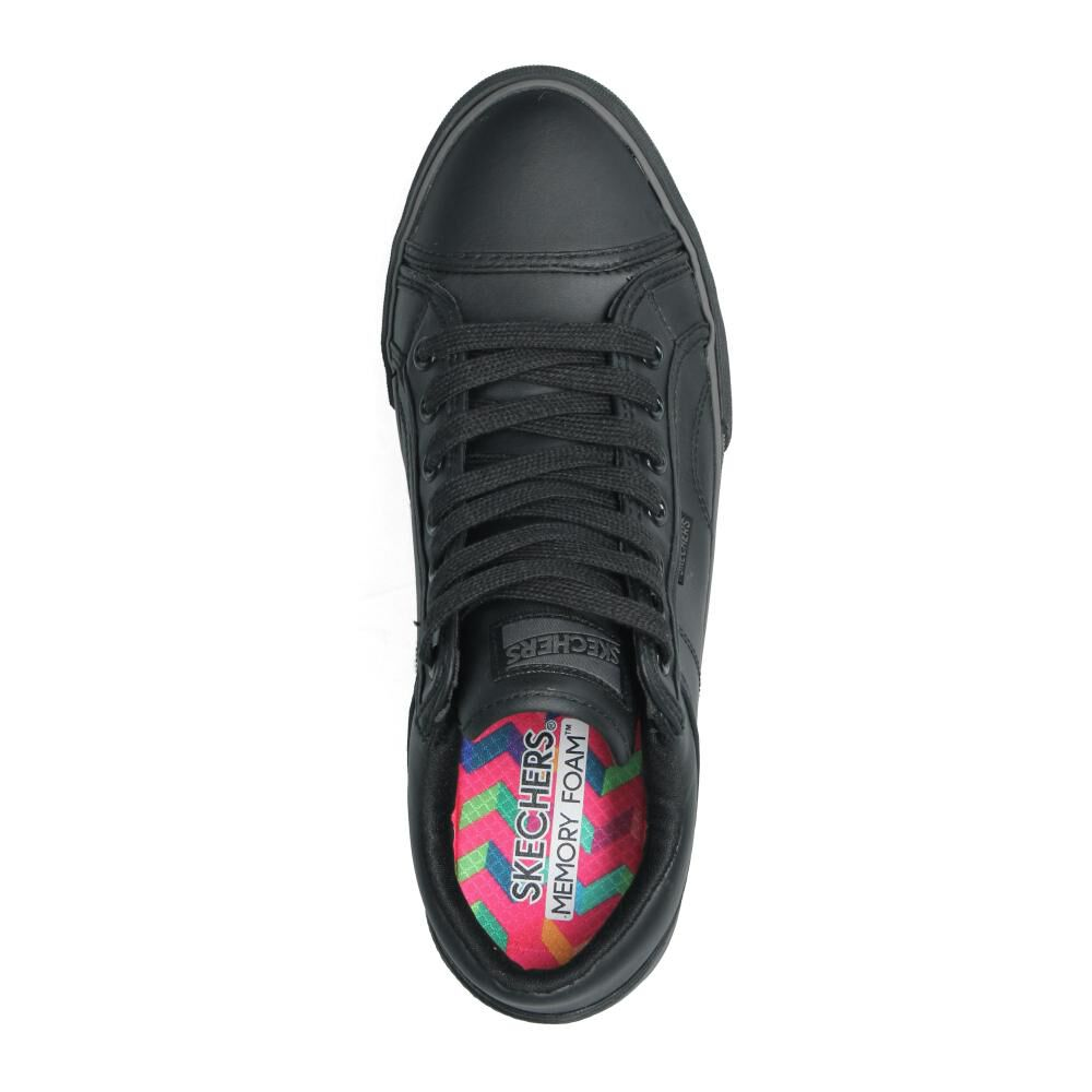 Zapatilla Escolar Niña Skechers image number 3.0