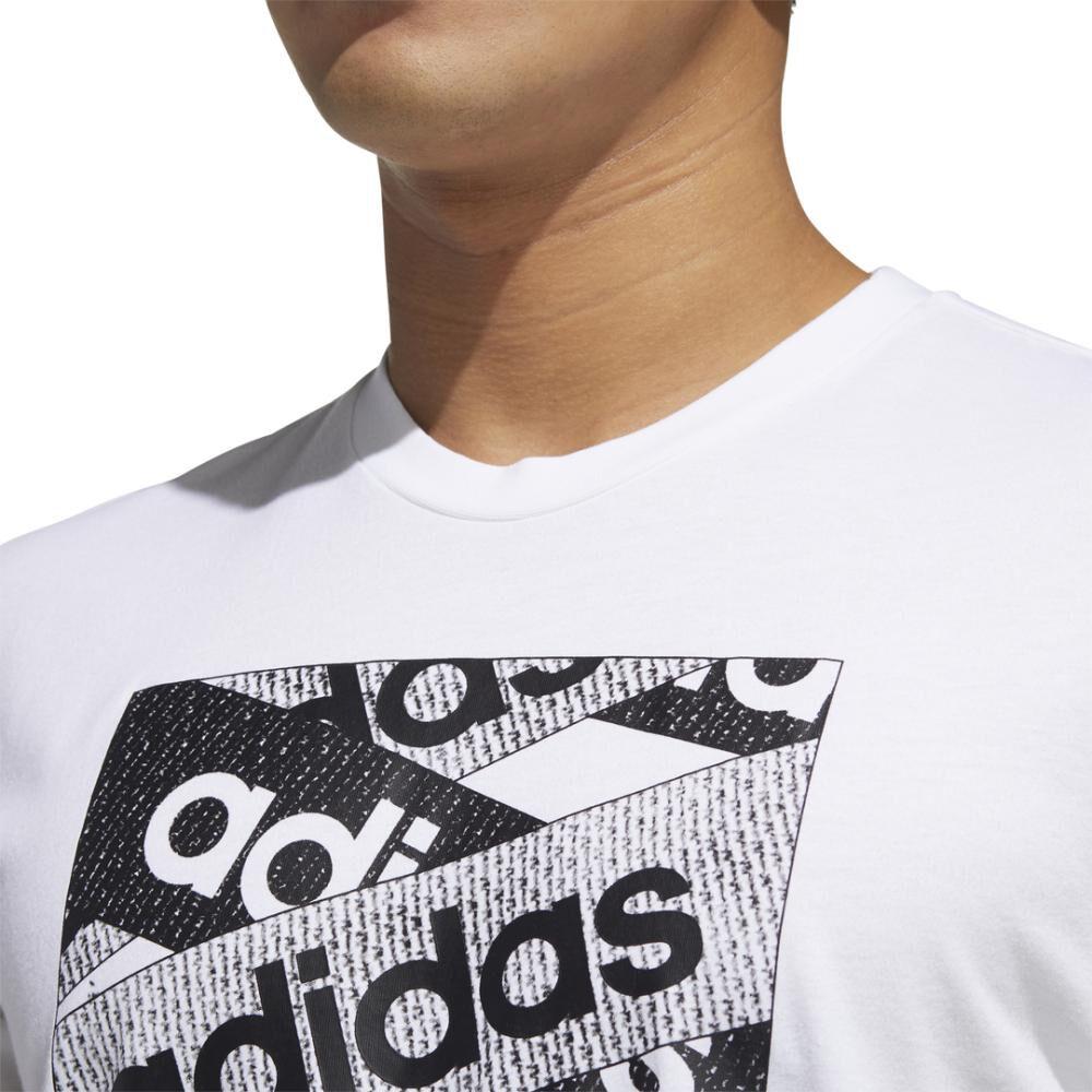 Polera Logo Unisex Adidas image number 4.0