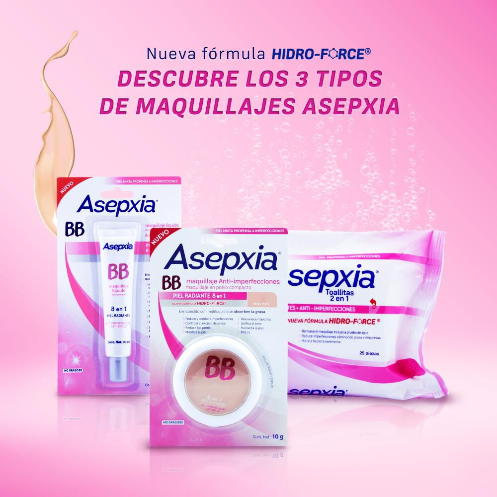 Maquillaje Polvo Asepxia Marfil Nf image number 2.0