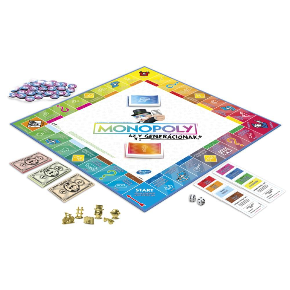 Juegos Familiares Monopoly Millenials image number 1.0