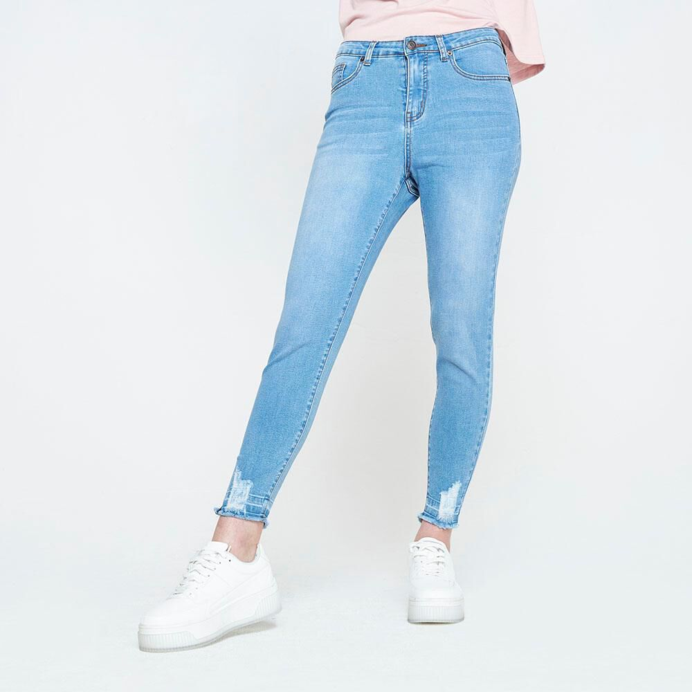 Jeans Mujer Tiro Alto Super Skinny Freedom image number 0.0