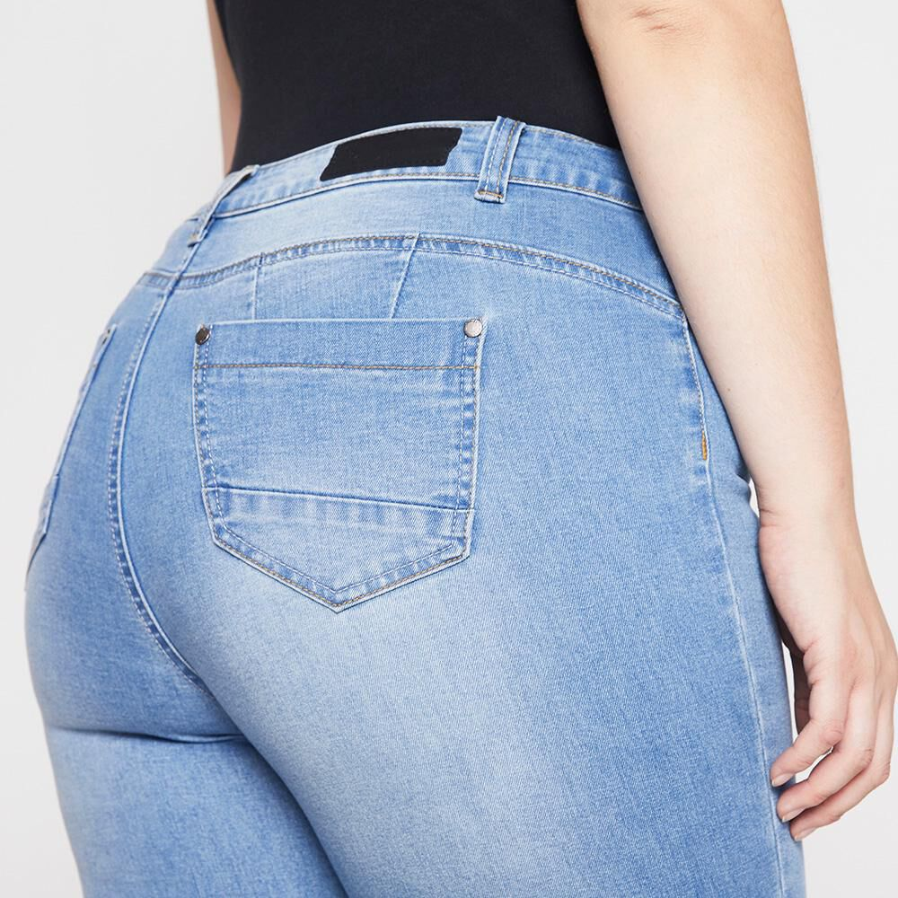 Jeans Mujer Tiro Alto Skinny Push Up Sexy Large image number 4.0