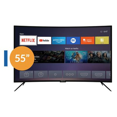 "Master G Mgucb5540x / 55""/ Ultra Hd / 4K / Smart Tv"
