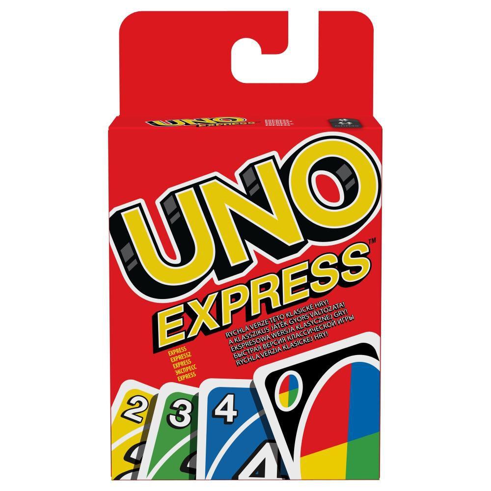Uno Cartas Juego De Cartas Uno Express image number 0.0