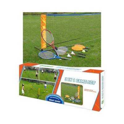 Juego Badminton Vadell 3 En 1